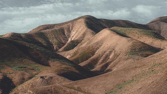 Photo of the hills outside of jerusalem